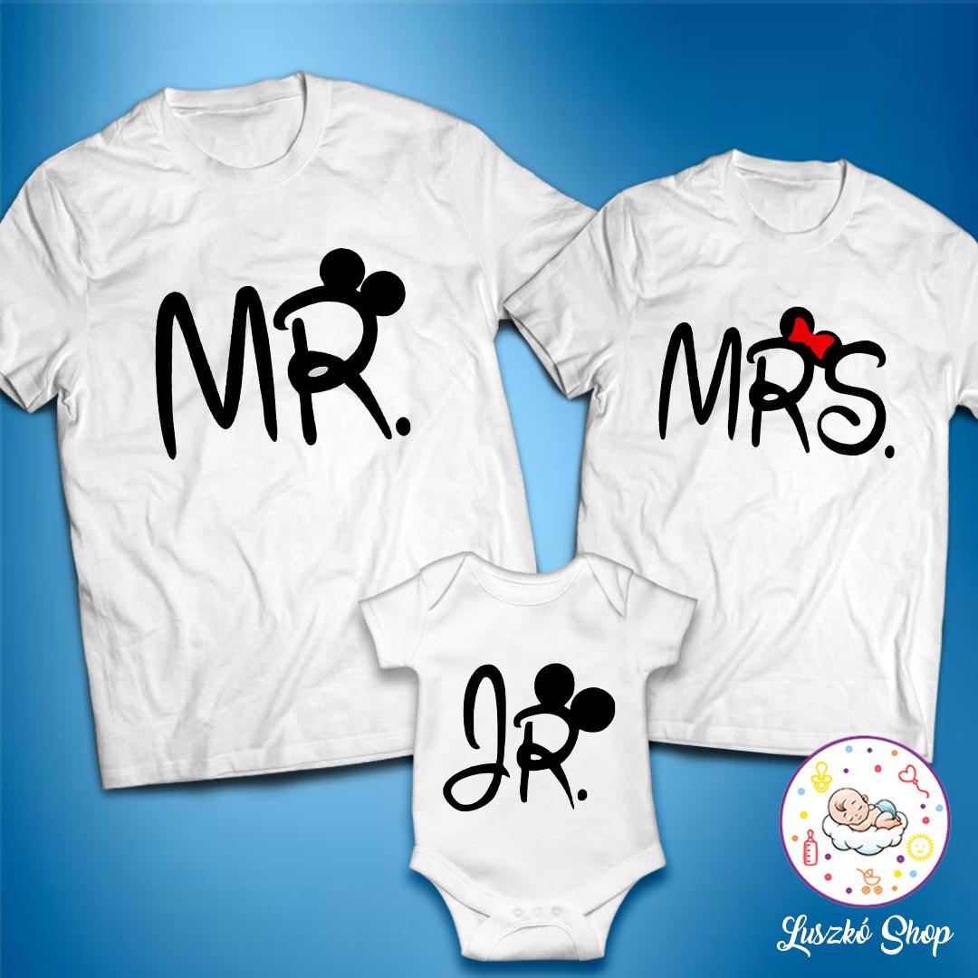 5e40714b17 Mr és Mrs plusz JR szett fehér | Luszkó Shop