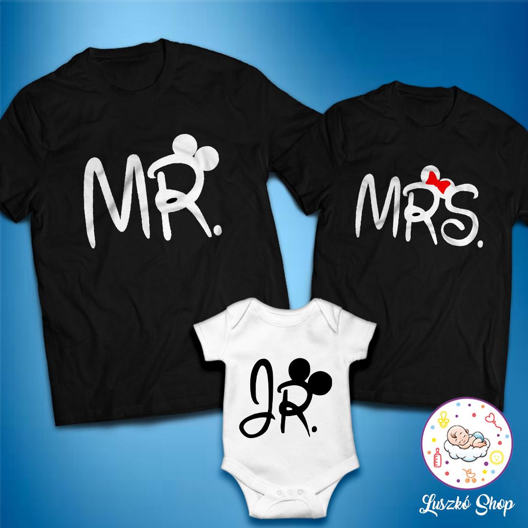 368c63bc1e Mr és Mrs plusz JR szett fekete | Luszkó Shop