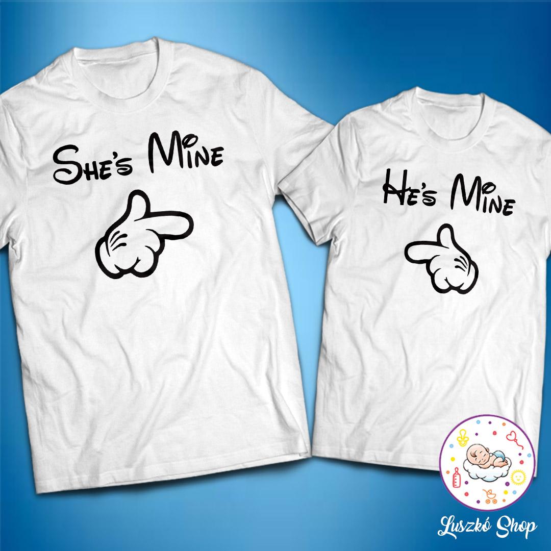 70f257312a He's and She's mine páros pólók | Luszkó Shop