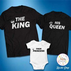 King Queen Princess