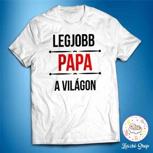 Legjobb papa a világon póló