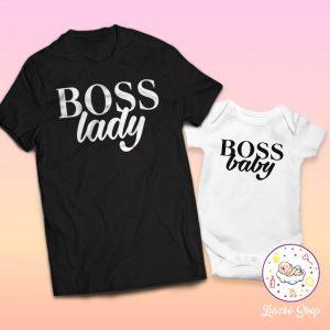 BOSS lady és BOSS baby páros szett