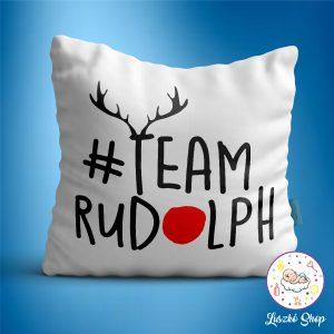 #Team Rudolph párna