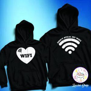 Wifi páros pulóver szett