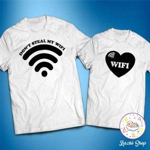 Wifi páros póló szett