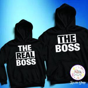 The Boss és The Real Boss páros pulóver