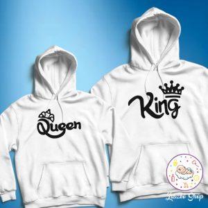 King and Queen páros pulóver