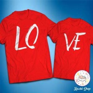 Love páros póló