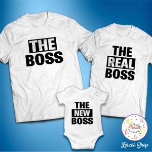 The boss and the real boss családi szett