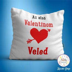 Első valentinom veled párna