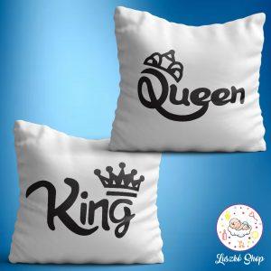 King Queen párnaszett