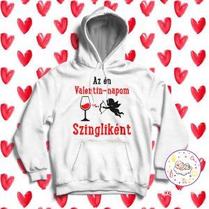 Az én valentin-napom szingliként pulóver